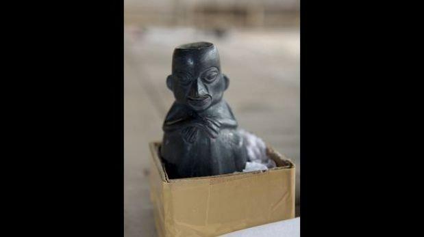 Huaca Mateo Salado escondía objetos arqueológicos y el cuerpo de un niño
