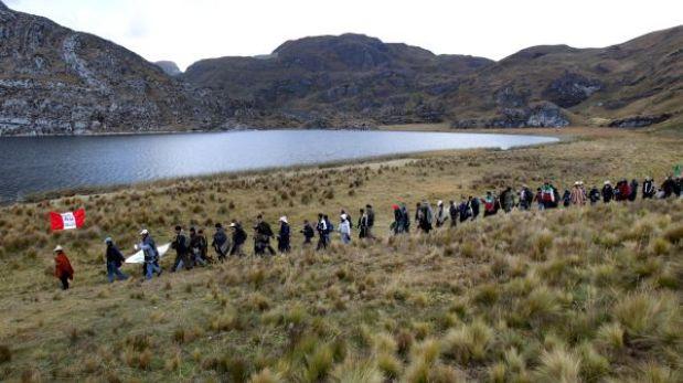 Cajamarca: comuneros incursionaron en zona del proyecto Conga