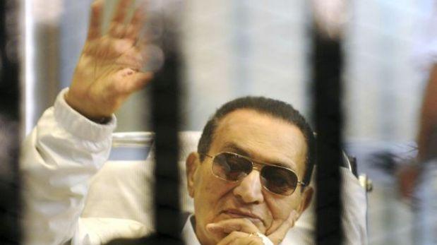 Egipto: Hosni Mubarak saldrá de prisión y cumplirá arresto domiciliario