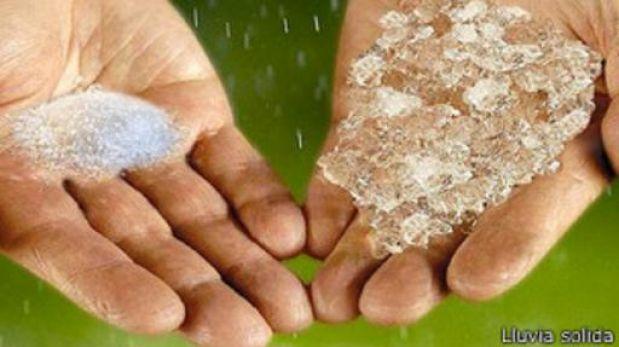 Lluvia en polvo mexicana, ¿una solución para la sequía?
