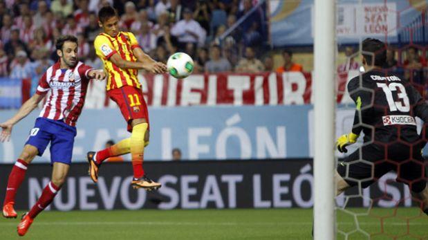 Supercopa de España: Barcelona igualó 1-1 ante Atlético de Madrid gracias a gol de Neymar