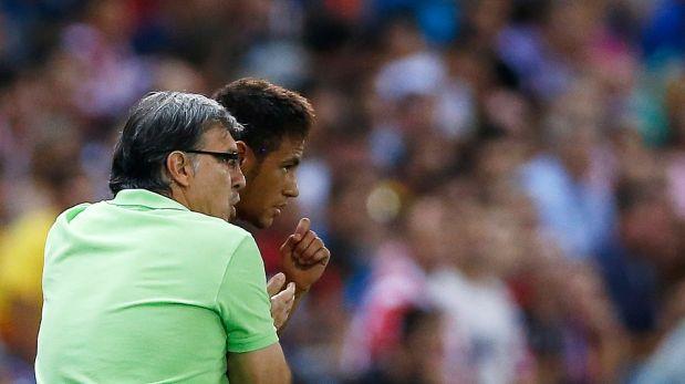 FOTOS: Neymar y David Villa se lucieron con goles en el 1-1 entre Barcelona y Atlético de Madrid