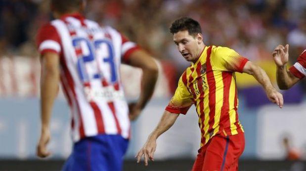 Lionel Messi tiene un hematoma en el muslo izquierdo, informó Barcelona