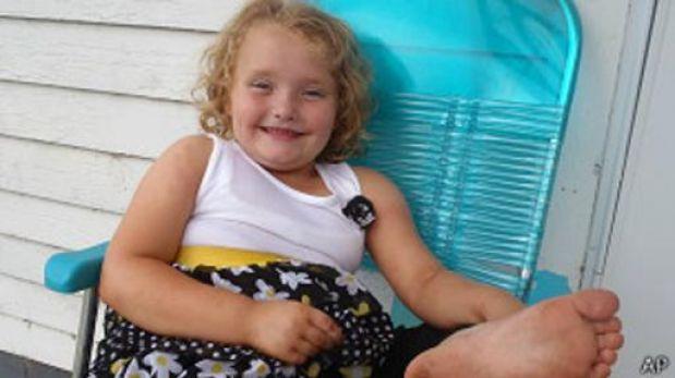 Honey Boo Boo, la niña que fascina a los espectadores en EE.UU.