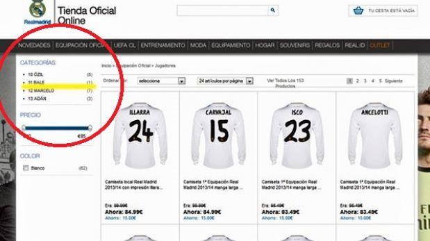 Real Madrid puso a la venta la camiseta del galés Gareth Bale