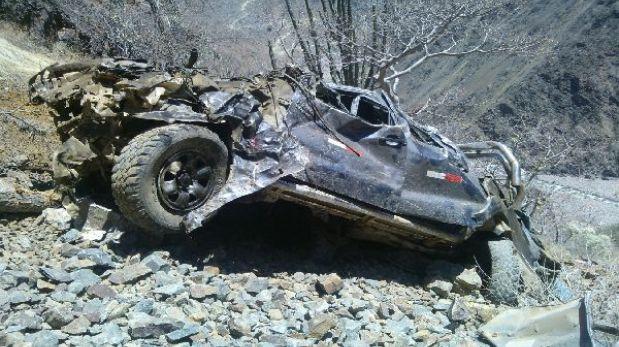 La Libertad: La policía entrega la lista de fallecidos tras la volcadura de una camioneta en Pataz