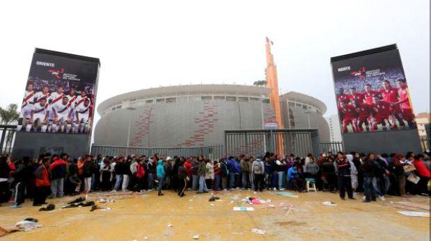 Vas al per uruguay ten en cuenta estos datos y for Puerta 27 estadio nacional