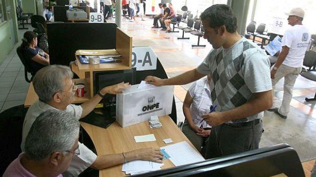 Elección en Lima: candidatos a regidores se pueden inscribir hasta el lunes