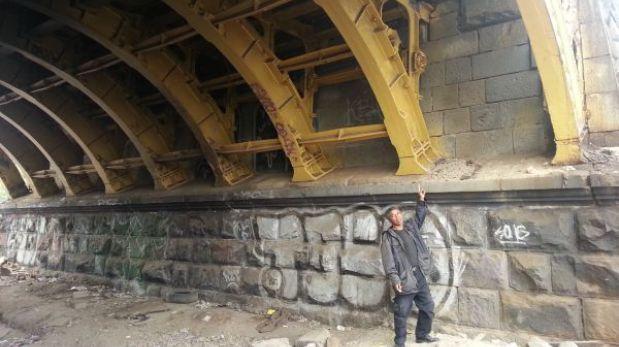 Puente Balta: piden mayor resguardo para evitar robo de piezas metálicas