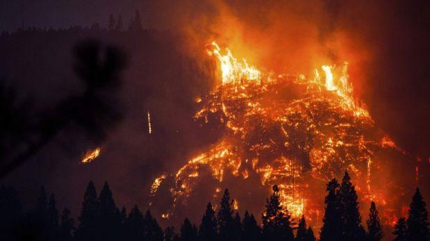 FOTOS: el enorme incendio que pone en riesgo al parque de Yosemite en California