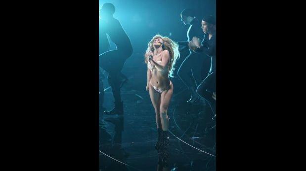 FOTOS: Lady Gaga regresó a los escenarios con un traje que no dejó nada a la imaginación