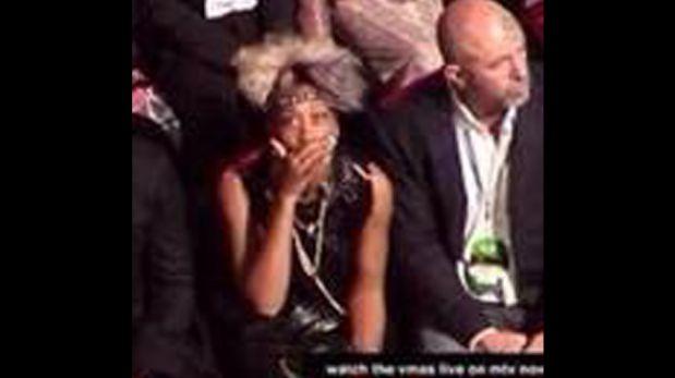 FOTOS: las caras de los famosos al ver el baile erótico de Miley Cyrus