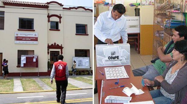Elecciones en Lima: las tres listas de candidatos a regidores fueron observadas