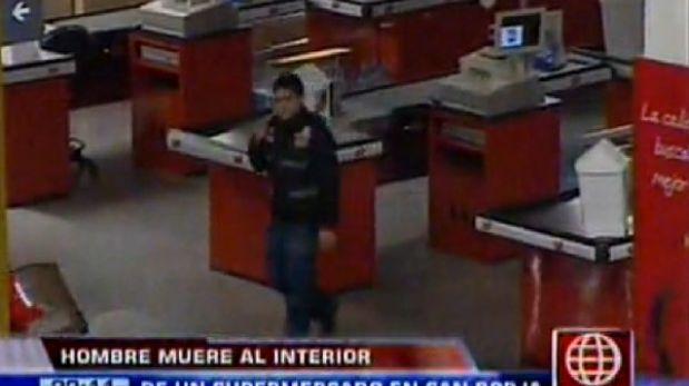 San Borja: denuncian que hombre murió en supermercado sin recibir ayuda