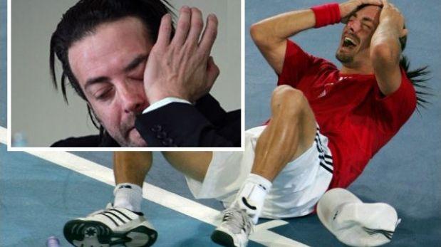 Nicolás Massú lloró al anunciar su retiro del tenis
