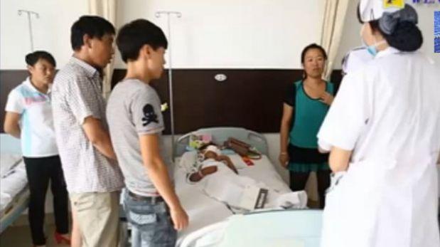Horror en China: traficantes de órganos extirpan ojos a niño