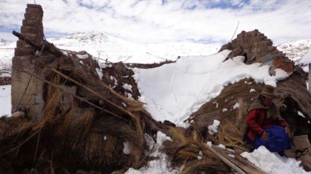 Puno: el saldo que deja hasta el momento la nevada en Carabaya