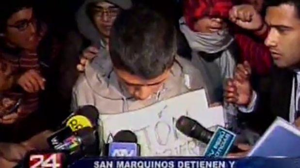 Policía justificó la presencia de agentes encubiertos en Universidad San Marcos