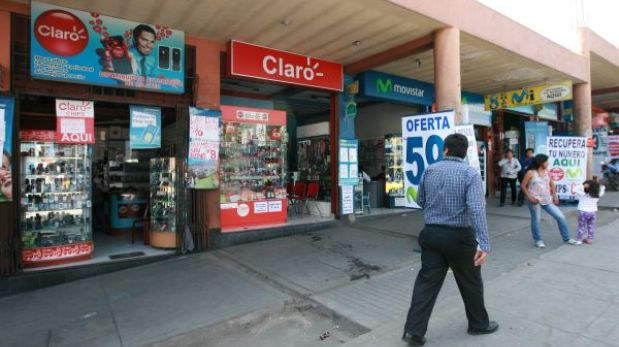 Caída de servicios de Claro afectó a clientes de seis departamentos