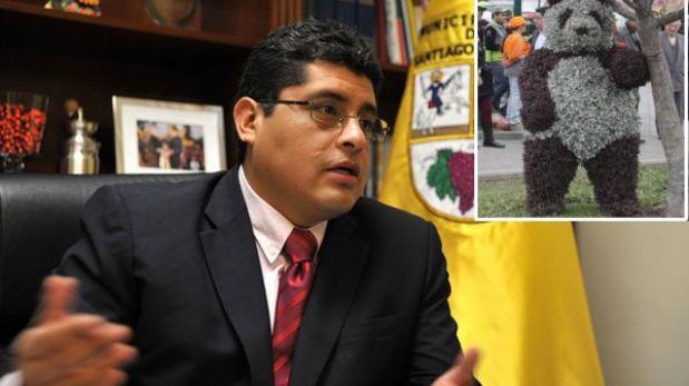 """Alcalde de Surco: """"Si alguien quiere utilizar los osos para una sorpresa, que lo haga"""""""