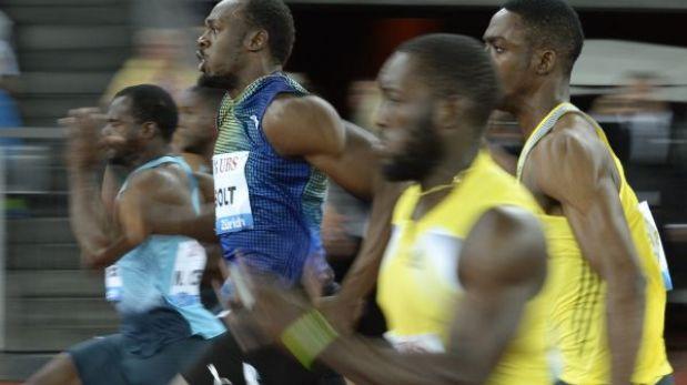 """Bolt tras ganar los 100 m. en Zúrich: """"Fue la peor carrera de la temporada"""""""