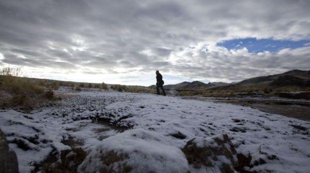 Son más de 33 mil los afectados por las nevadas en Puno, Apurímac y Ayacucho