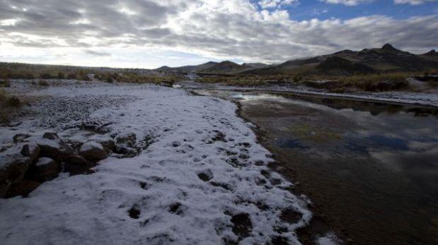 Senamhi pronostica heladas intensas para la sierra sur y central