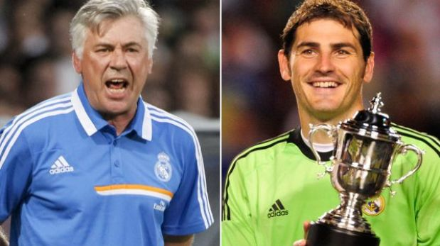 "Ancelotti insiste en dejar a Iker Casillas de suplente: ""Ya tendrá su chance"""
