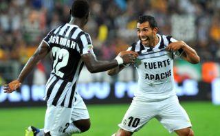 Juventus goleó 4-1 a la Lazio con gol de Tevez y doblete de Vidal [VIDEO]