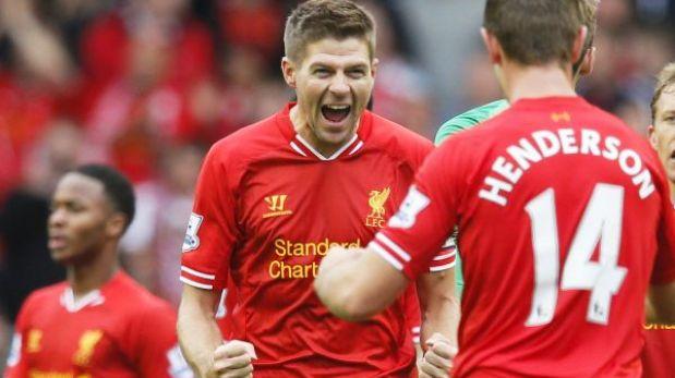 Liverpool venció 1-0 a Manchester United sin Luis Suárez