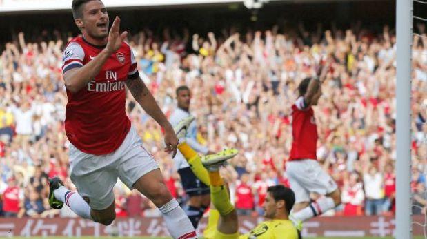 Arsenal venció 1-0 a un Tottenham sin Gareth Bale