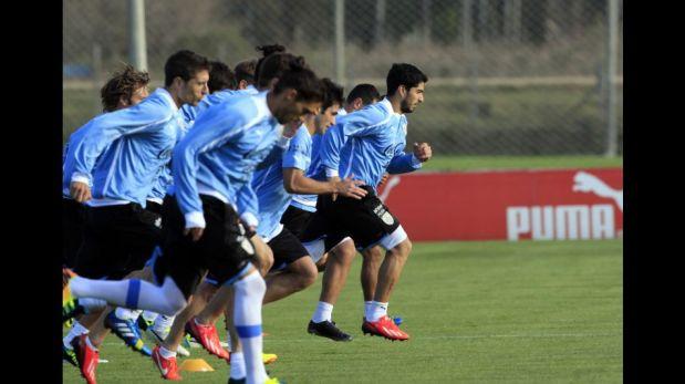 FOTOS: así entrenó la selección de Uruguay pensando en el partido clave ante Perú