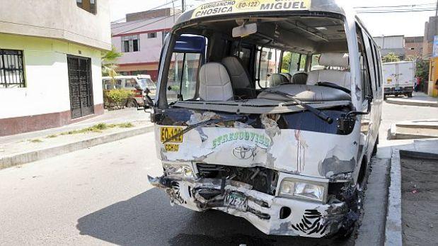 Feriado largo dejó tres accidentes de tránsito en el país