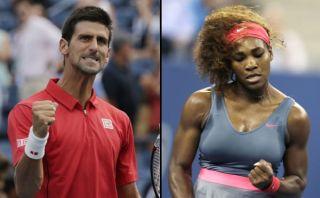US Open: Djokovic en cuartos de final y Serena Williams en semis