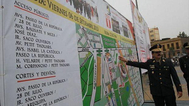Perú-Uruguay: policía solicitará DNI de los asistentes al partido