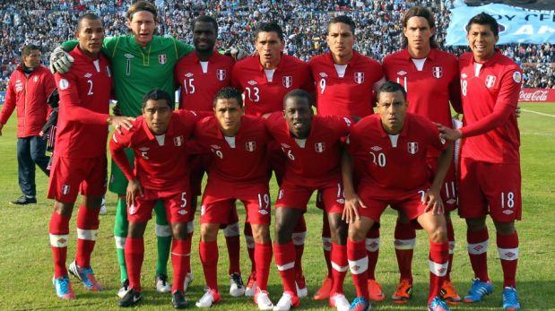 Las últimas oncenas con que Perú enfrentó a Uruguay