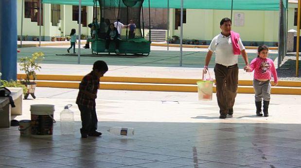 Trujillo: 60 colegios están expuestos a la influenza por falta de agua