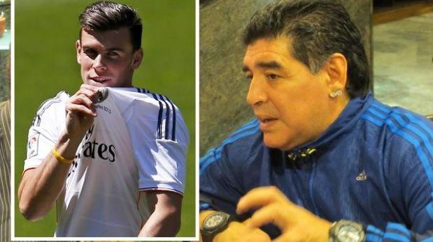 """Maradona: """"Creo que Gareth Bale vale la mitad de lo que pagaron"""""""