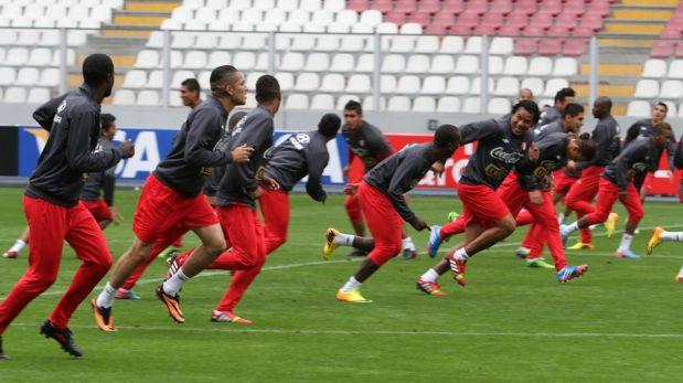 FOTOS: Selección peruana entrenó en el Estadio Nacional a un día de enfrentar a Uruguay por Eliminatorias