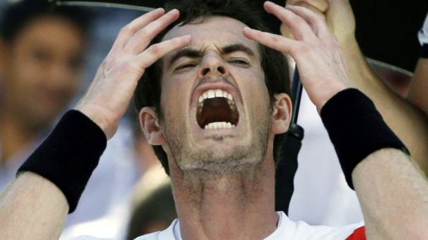 El campeón vigente Andy Murray fue eliminado del US Open por Wawrinka