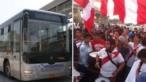 Metropolitano ampliará su horario y el número de buses por el Perú-Uruguay
