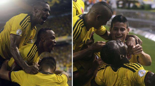FOTOS: lo mejor de los triunfos de Colombia y Paraguay por Eliminatorias