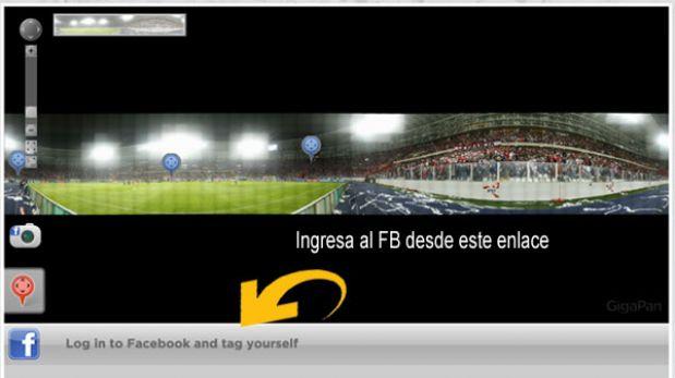 ¿Fuiste al Estadio Nacional el viernes? ¡Encuéntrate en esta foto gigante y compártela en Facebook!