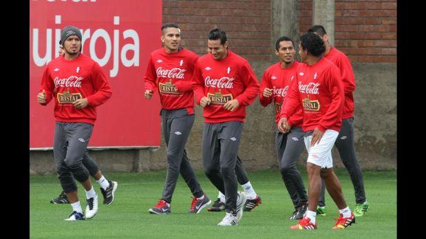 FOTOS: selección peruana entrenó pensando en Venezuela luego del duro golpe ante Uruguay