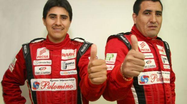 Los hermanos Palomino son líderes absolutos de Caminos del Inca 2013