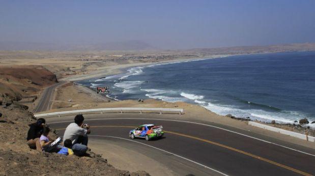 FOTOS: el abandono de Hart, la victoria de Palomino y las mejores imágenes de la etapa Lima-Arequipa