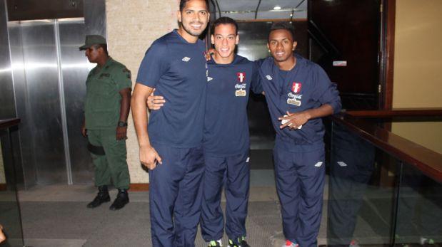 La selección peruana ya está concentrada en Venezuela por Eliminatorias