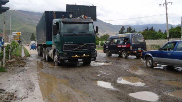 Huánuco: transportistas inician paro de 72 horas por mejores carreteras