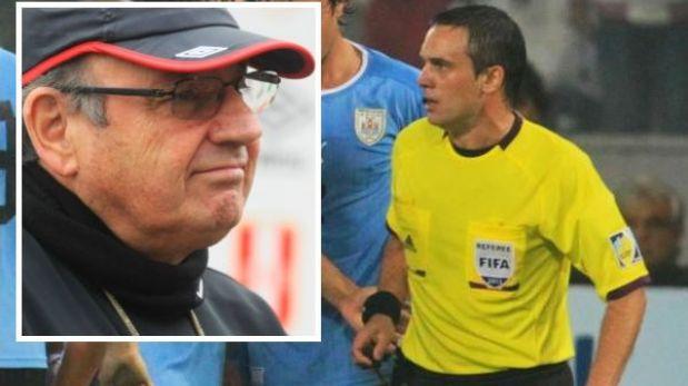 El árbitro del Perú-Uruguay no irá al mundial porque no está en el proceso, responden a Markarián