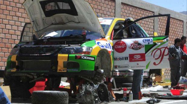 FOTOS: los pilotos dejaron sus autos listos para la etapa Cusco-Arequipa de Caminos del Inca